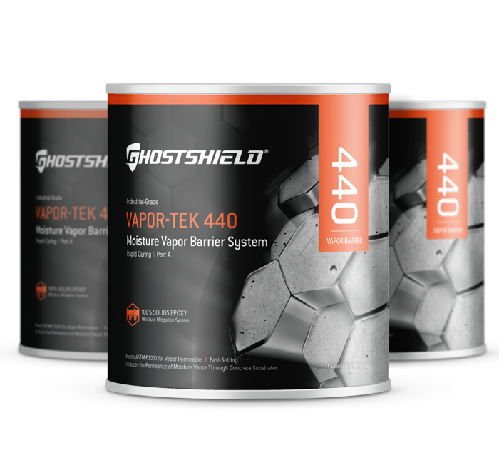 Vapor Tek 440 Concrete Stains Ghostshield 174