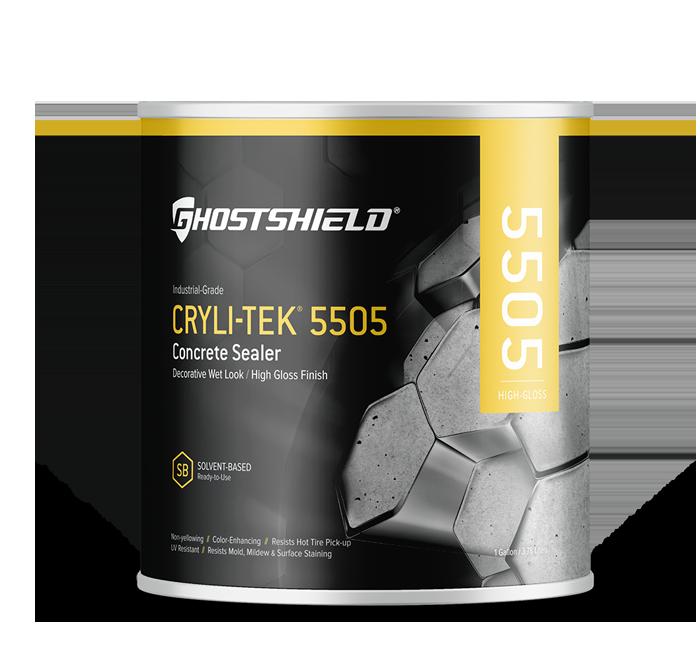 Cryli Tek 5505 Decorative Concrete Coating Ghostshield